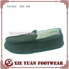 2012 warm fur shoes for men