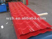 metallic steel roofing tile 828