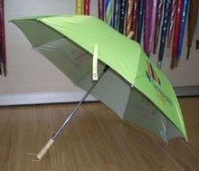 uv silver coating stick umbrella