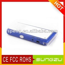 emergency solar charger for PAD/IPOD/Laptop/mobile phones