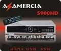 América del sur dvb-s caja stb tv vía satélite receptor decodificador hd receptor de az america s900 hd