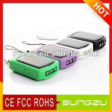 2012 Hot Selling Mini Solar Charger From Shenzhen Manufacturer