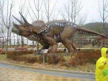 Vivid dinosaur inflatable