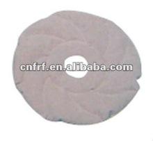 2012 flocked round shape Inflatable cushion