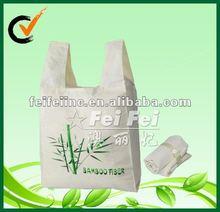 Foldable Bamboo Fibre Shopping Bag with bamboo logo printing