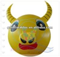 inflatable advertising helium ox head
