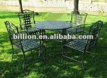 2012 hot sale china manufacturer custom hot metal outdoor furniture