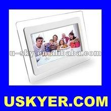 "7 Inches Digital Photo Frame Slim , 7"" Digital Photo Frame (DPF) Slim Design. Single & Multiple Function,Support Video & Picture"