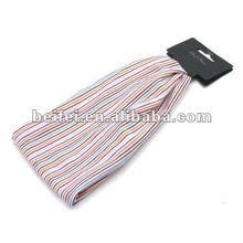 Rainbow fabric custom printed headband display card