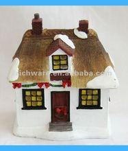 Resin Mini House Christmas Gifts 2012