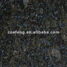 Import Cheap Butterfly Blue Granite tile black grey slab
