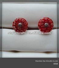 2012 fashion custom colorful cufflinks X058