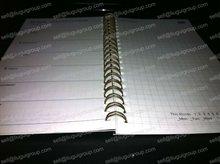 2012 calendar notebook