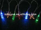 20Led solar decoration string light with coca-cola bottle