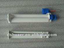 hydrogen peroxide dual barrel syringe of tooth bleaching gel---OEM