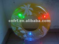 2012 led flashing inflatable swimming ring
