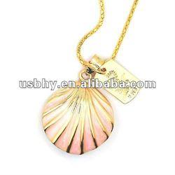 Hot ! jewel necklace usb flash drive seashell usb driver