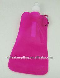 Personalized sport water bottle purple