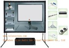 Front & Rear Fast-Fold Projection Screen Using In Many Occasions