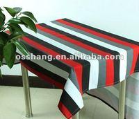 western stripe table cloth ,home/coffee room