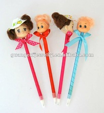 fashion Christmas novelty promotional flower pen