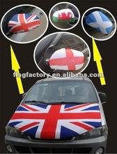 Cheap!!!2012 hot sell England car mirror flag