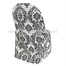 Wedding Jacquard Chair Cover