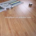 12mm/8mm fácil instalar madera de textura de la superficie de suelo laminado