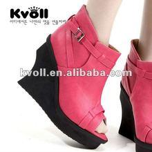 2012 latest design lady fashion shoes