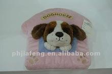 Dog House Stuffed Cushion