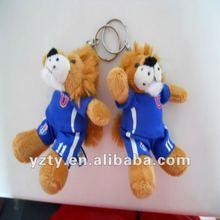 Factory supply 10cm cute plush lion toys