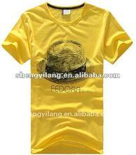 2012 Guangzhou top quality cotton/poly t shirts for men