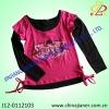 new design fashion girl t-shirt