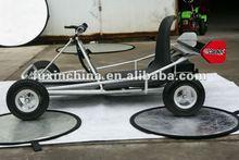 Silver solar cart/electric go kart