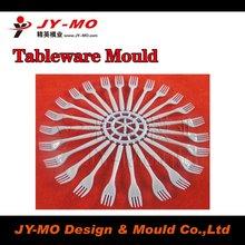 moldes de cubiertos plasticos/ 32 cavity fork mould