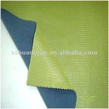 Windstop mesh bonded polar fleece fabric