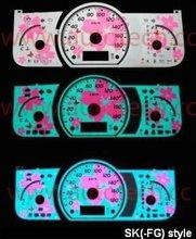 SK(-FG) Style cherry blossoms sakura for Ford / Mitsubishi / Chevrolet / Acura EL Glow Gauge