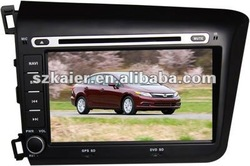 in dash car dvd gps used for Honda Civic