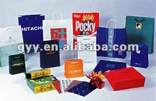 Customize gift packaging bag with different size