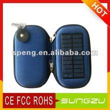 travel cellphone solar bag charger potable& cute solar charger bag
