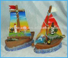 Polyresin Ship Model Souvenir Tourist