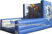 high quality inflatable basketball training frame