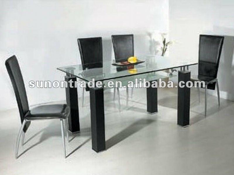 2012 modelo de vidrio templado mesa de comedor dise os con - Mesas de vidrio ...