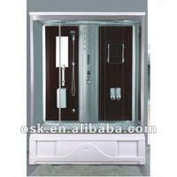 OSK-8765-1 sunshine transparent glass shower room