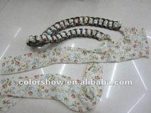 2012 new desgin fashion colorful woman beaded belt