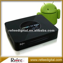 Google Android 2.3 Built-in-wifi smart tv box view movies on the internet