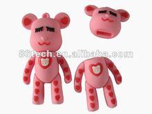 8gb animal usb flash memory stick,16gb funny usb flash memory,cartoon usb stick