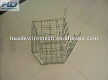 Welded mesh gabion baskets/rock filled gabion/gabion box wire mesh