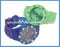 2012 красочных моды силиконовые часы
