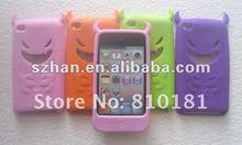 New For iPod Touch 4 4TH Gen Silicone Case, Devil Silicone Silicon Skin Case